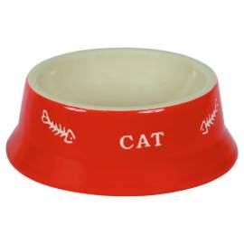 Kerámia macska etető tál