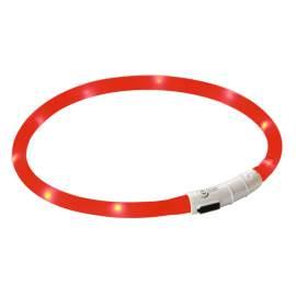 LED izzós kutya nyakörv