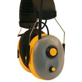 Fülvédő rádióval
