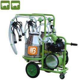 Mobil tehén fejőgép (DUPLA-modell)