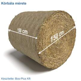 Bálatakaró lélegző textil ponyva STANDARD (140g/m2)