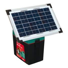 Szolár panel és 12 V-os akkumulátor szett