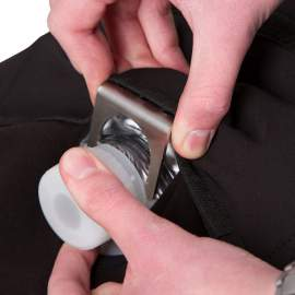 Kolosztrum tasak tartó vállra akasztható zsák
