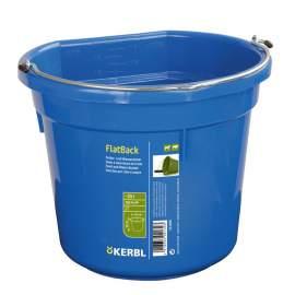 Istálló vödör lapos hátlappal (20 liter)