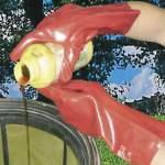 PROTECTION vegyvédelmi PVC kesztyű