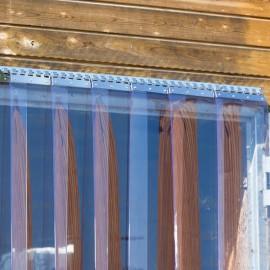 PVC szigetelő függöny és tartozékai