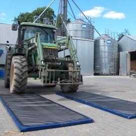 Tehergépkocsi fertőtlenítő szőnyeg