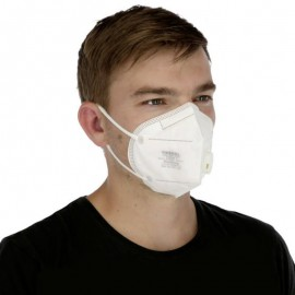 Higiéniai FFP2 / KN95 szájvédő maszk szeleppel (5 db/csomag)