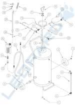 Habosító tartály (24 és 50 literes)