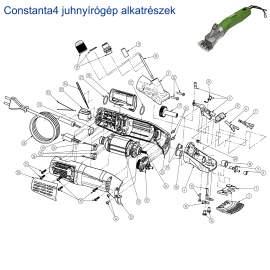 Birkanyírógép CONSTANTA4 alkatrészek